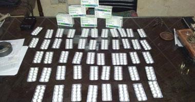 ضبط موظف بالبحوث وبحوزته 7850 قرصا مخدرا بكفر الشيخ