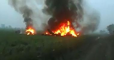 اسماء الشهداء فى حادث سقوط طائرة عسكرية بالفيوم