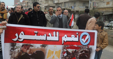 """""""الصوفية"""" بالإسكندرية تحيى المولد النبوى بمسيرة لدعم الدستور"""