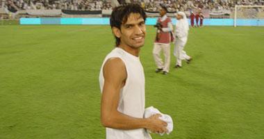 حسين ياسر المحمدى لاعب الزمالك - صورة أرشيفية