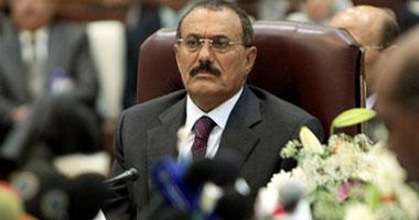الرئيس اليمنى على عبد الله صالح