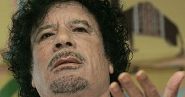 دروع بشرية القذافى لحمايته القصف