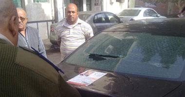 انفجار عبوة ناسفة ألقاها مجهولون على قسم دائرى القاهرة الجديدة دون إصابات