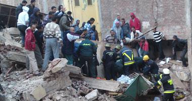 زيادة عدد ضحايا مصنع الإسكندرية المنهار لـ 26 قتيلا و10 مصابين S1220101218430