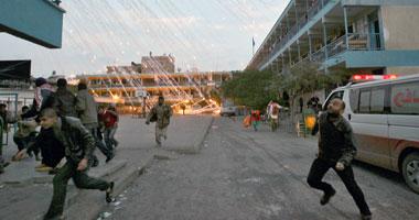 مقتل وإصابة 14 فلسطينيا فى مجزرة إسرائيلية بغزة S12201016131541