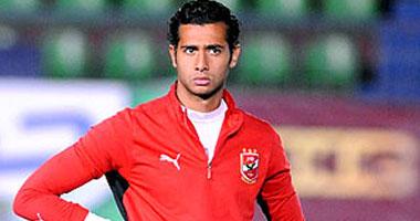 أحمد عادل عبد المنعم يحمى عرين الأهلى أمام المقاصة