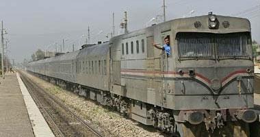 انفصال مقدمة قطار القاهرة الإسكندرية