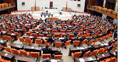 استمرار المشادات الكلامية بالجولة الثالثة فى نقاشات البرلمان التركى