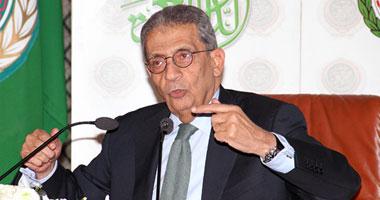 الأمين العام لجامعة الدول العربية عمرو موسى