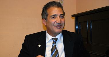 محمد عبد المنعم الصاوى وزير الثقافة
