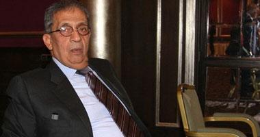 """انطلاق حملة لدعم """"عمرو موسى"""
