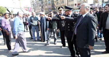 حملة أمنية لإعادة الانضباط فى شوارع القاهرة s1220111013143.jpg