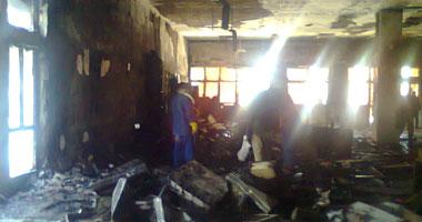 نجاة 90 مريضاً فى حريق هائل بمستشفى تلا المركزى بالمنوفية s12201111122012.jpg