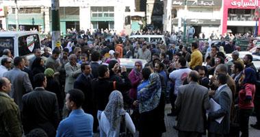 مظاهره تتجه للتحرير الجمعه للمطالبه بالافراج عن 8 ضباط
