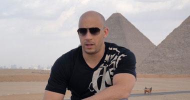 صور النجم العالمي فين ديزل مع صور فان ديزل اثناء زيارته مصر vin diesel