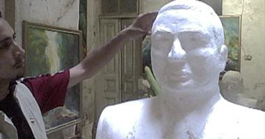 تمثال المخلوع