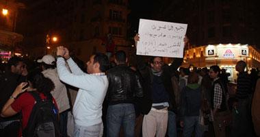 مسيرة ضد المجلس العسكرى ليلا