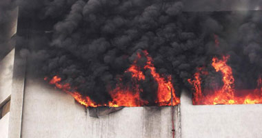 حريق كلية الصيدلة جامعة الأزهر  S12201127194110