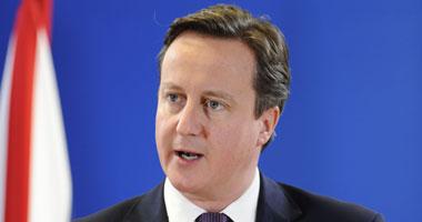 رئيس الوزراء البريطانى دايفيد كاميرون