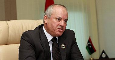 وزير النفط والغاز الليبى عبد البارى العروسى