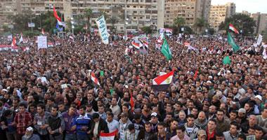 توافد القوى الإسلامية على ميدان رابعة العدوية - أرشيفية
