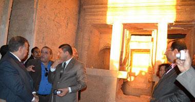 تعامد الشمس على معبد قصر قارون