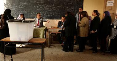 جانب من عملية التصويت
