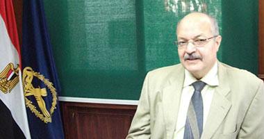 مساعد وزير الداخلية ومدير أمن أسيوط يزوران مصابى الشرطة بالمحافظة