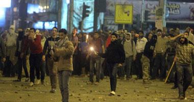 اشتعال النيران بمقر الحرية والعدالة بالإسماعيلية S1220125211757
