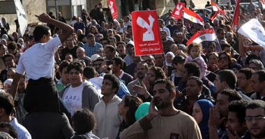 """وصول مسيرة التحرير """"الاتحادية"""" للمطالبة"""