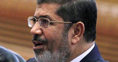 الرئيس المصرى محمد مرسى