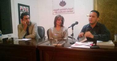 بالصور.. مدحت صفوت: ديوان صونيا خضر يخضع المقدس لسلطة الجميل