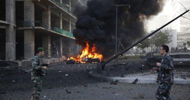 جانب من تفجير بيروت اليوم- أرشيفية