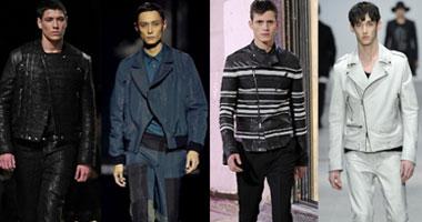 بالصور.. الأزرق الداكن والأسود يتصدران موضة أزياء الرجال لشتاء 2014 S1220132794011