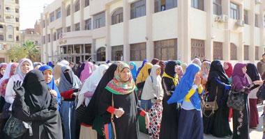 مسيرة لطلاب الإخوان بجامعة المنيا لرفض الاستفتاء على الدستور