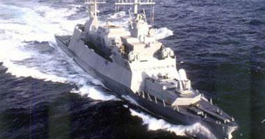 سفينة حربية إندونيسية فى ميناء بورسعيد- أرشيفية