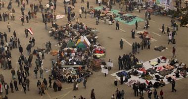 ليبيون ينقلون احتجاجاتهم على جبروت القذافى إلى ميدان التحرير