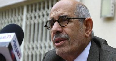 الدكتور محمد البرادعى المدير السابق للوكالة الدولية للطاقة الذرية والمرشح المحتمل لرئاسة الجمهورية