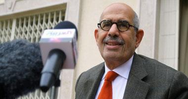 البرادعى: أقبل أن أكون رئيس وزراء و الإعلان الدستورى ليس قرآنا