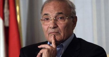 رئيس الوزراء السابق الفريق أحمد شفيق