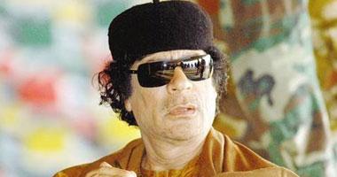 معمر القذافى الزعيم الليبى