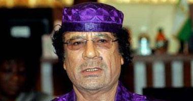 الزعيم معمر القذافى