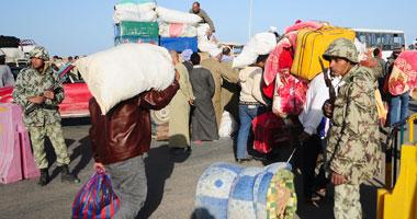 عودة آلاف مصرى ليبيا منفذ