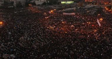 متظاهرو التحرير يواصلون المبيت الميدان