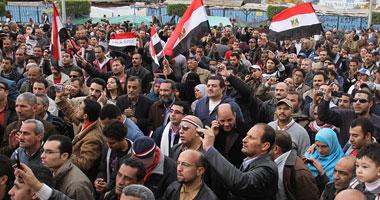"""استنفار بين معتصمى التحرير بعد أنباء عن وصول """"بلطجية""""  S22011622021"""