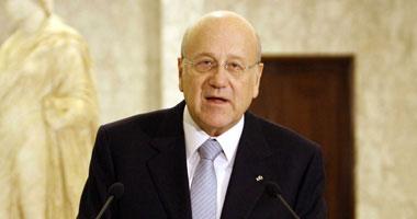 رئيس الوزراء اللبنانى نجيب ميقاتى