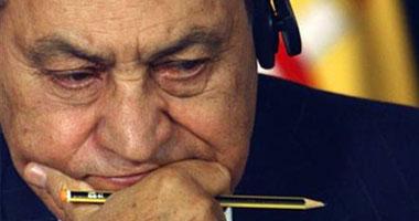 الرئيس المخلوع مبارك
