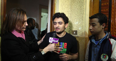 لقاء وائل غنيم فى برنامج العاشرة مساءاً