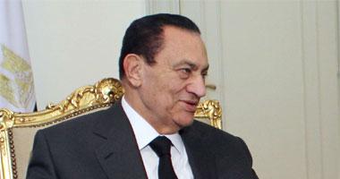 حسنى مبارك الرئيس السابق
