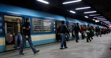 """""""المترو"""": انتحار فتاة عشرينية مجهولة الهوية أسفل قطار بمحطة مارى جرجس"""